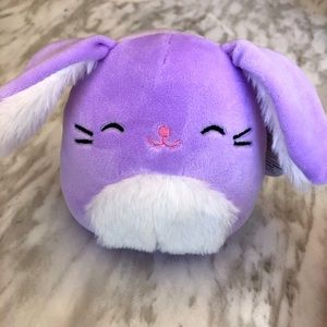 """NWT 5"""" Bubbles the Bunny Easter Squishmallow"""